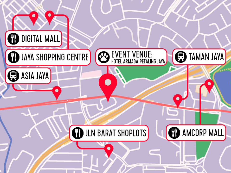 Map Of Asia Jaya Lrt Station.Welcome Furum 2018 Furs Upon Malaysia